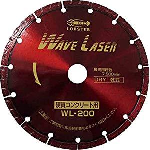 ダイヤモンドホイール ウェーブレーザー 乾式 ロブテックス WL200