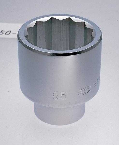 25.4SQ ソケット 十二角 KTC B50-65