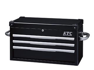 トップ チェスト 3段3引出) ブラック KTC EKR-1003BK