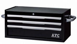収納 出色 家具 その他 収納その他 受賞店 フラットトップチェスト ブラック KTC EKR-2003BK 3段3引出し