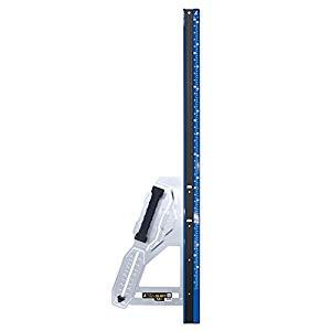 丸ノコガイド定規 エルアングル Plus シフト 1.2m 寸勾配切断機能付 シンワ測定 No.79055