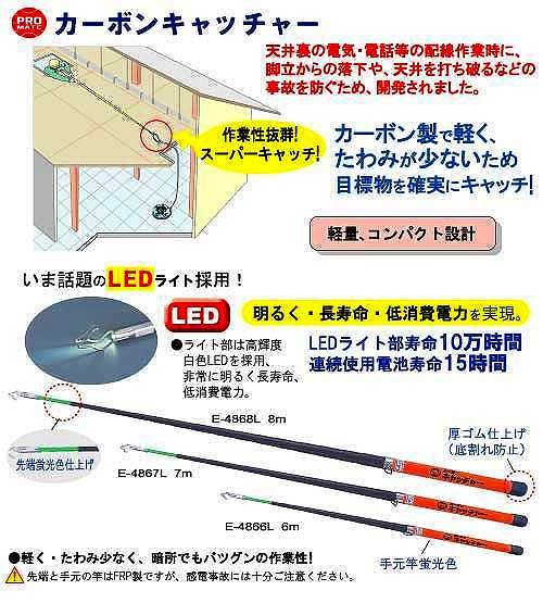 PRO MATE カーボンキャッチャー マーベル E-4866