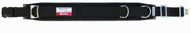 柱上安全帯用ベルト ワンタッチバックルタイプ 黒 マーベル MAT-180B