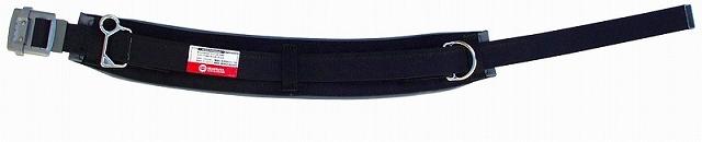 柱上安全帯用ベルト スライドバックルタイプ Sサイズ 黒 マーベル MAT-100WBS