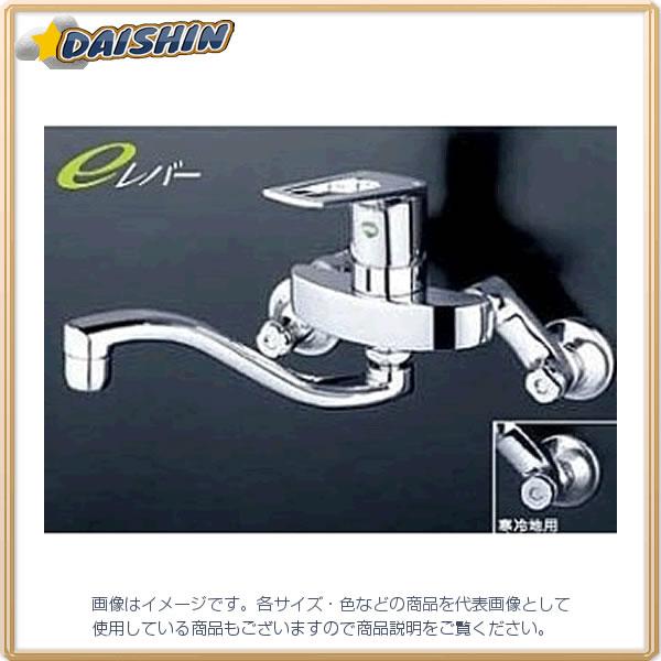 寒 シングル混合栓 eレバー KVK KM5000ZTHEC