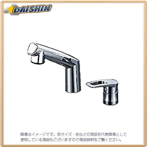 洗面シングル 湯側角度規制 KVK KM5271TA