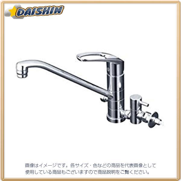 流し台混合栓 止水栓付 KVK KM5041TTU