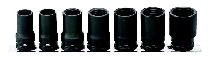 1/2(12.7mm)インパクトロックナットバスターレールセット7ヶ組 コーケン RS14124/7