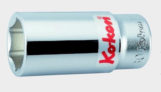 3/4(19mm)6角ディープソケット 2.3/16 コーケン 6300A-2.3/16