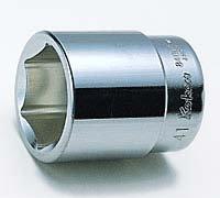 1(25.4mm)6角ソケット 76mm コーケン 8400M-76