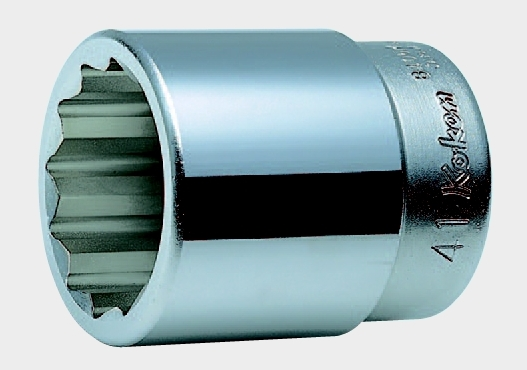 1(25.4mm)12角ソケット 2.9/16 コーケン 8405A-2.9/16