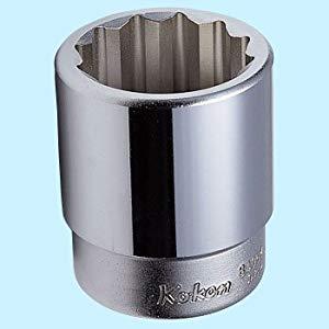 1(25.4mm)12角ソケット 80mm コーケン 8405M-80