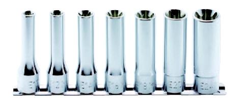 1/2(12.7mm)トルクスディープソケットレールセット 7ヶ組 コーケン RS4325/7