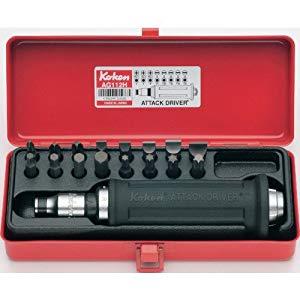 1/2(12.7mm)アタックドライバーセット 18ヶ組 コーケン AG112H
