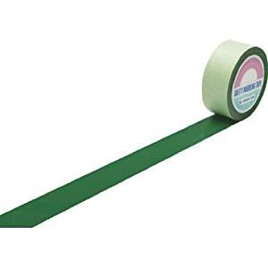 ラインテープ(ガードテープ) 緑 50mm幅×100m 屋内用 日本緑十字社 No.148052