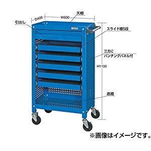 工具収納ワゴン サカエ SSW-116S6P3BL