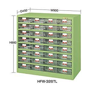 ハニーケース・樹脂ボックス サカエ HFW-326TL