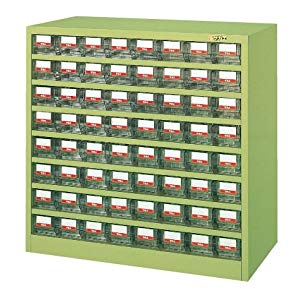 ハニーケース・樹脂ボックス サカエ HFW-64TI