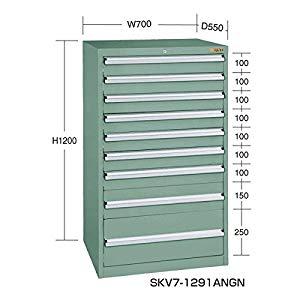 SKVキャビネット サカエ SKV7-1291ANGN