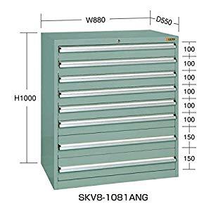 SKVキャビネット サカエ SKV8-1081ANG