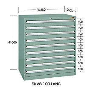 SKVキャビネット サカエ SKV8-1091ANG