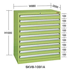 SKVキャビネット サカエ SKV8-1091A