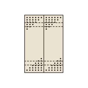 パンチングウォールシステム サカエ PO-302LN