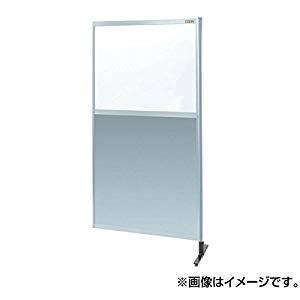 パーティション 透明塩ビ(上) アルミ板(下)(連結) サカエ NAE-46NR