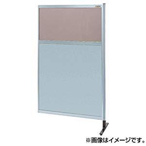 パーティション 透明カラー塩ビ(上) アルミ板(下)(連結) サカエ NAK-55NR