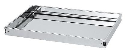 ステンレスCSスーパーワゴン用棚板 サカエ CSSA-75TSU