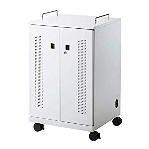 ノートパソコン収納キャビネット(12台収納) CAI-CAB104W サンワサプライ CAI-CAB104W
