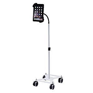 iPad・タブレット用キャスター付きスタンド CR-LASTTAB16W サンワサプライ CR-LASTTAB16W