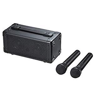 ワイヤレスマイク付き拡声器スピーカー MM-SPAMP7 サンワサプライ MM-SPAMP7