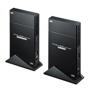 ワイヤレスHDMIエクステンダー(据え置きタイプ・セットモデル) VGA-EXWHD5 サンワサプライ VGA-EXWHD5
