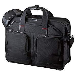 エグゼクティブビジネスバッグPRO(ダブル) BAG-EXE8 サンワサプライ BAG-EXE8