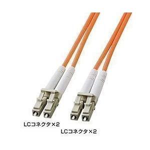 光ファイバケーブル HKB-LCLC5-50L サンワサプライ HKB-LCLC5-50L