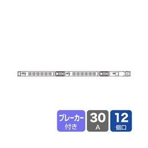 19インチサーバーラック用コンセント(30A) TAP-SVSL3012B サンワサプライ TAP-SVSL3012B