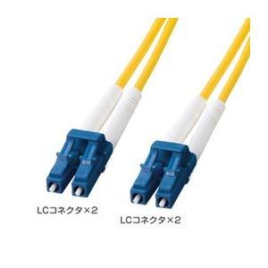 光ファイバケーブル HKB-LCLC1-50L サンワサプライ HKB-LCLC1-50L