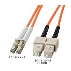 光ファイバケーブル HKB-LCSC5-40L サンワサプライ HKB-LCSC5-40L