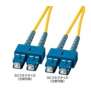 光ファイバケーブル HKB-SCSC1-40L サンワサプライ HKB-SCSC1-40L