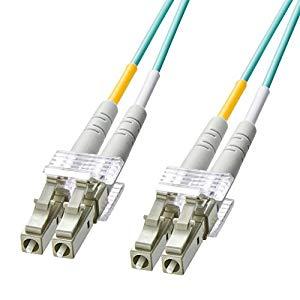 OM3光ファイバケーブル HKB-OM3LCLC-10L サンワサプライ HKB-OM3LCLC-10L