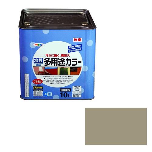 水性多用途カラー ライトグレー アサヒペン