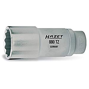 ディープソケットセット(12角タイプ・差込角9.5)レール付 HAZET ハゼット 880TZ10H