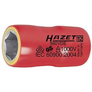 DIY工具用品 作業工具 作業工具その他 VDE絶縁 差込角9.5mm HAZET 25%OFF 引出物 ソケット ハゼット 880VDE-18 18mm
