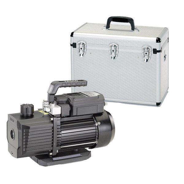 オイル逆流防止弁付高性能ツーステージ真空ポンプケースセット(TA150ES) イチネンタスコ TA150XE-B