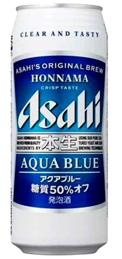 500ml アサヒ アクアブルー 驚きの値段で 500缶24本入 新作通販