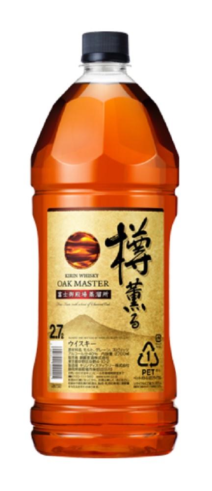 オークマスター樽薫る2700mlペットボトル6本入のケース販売となります。