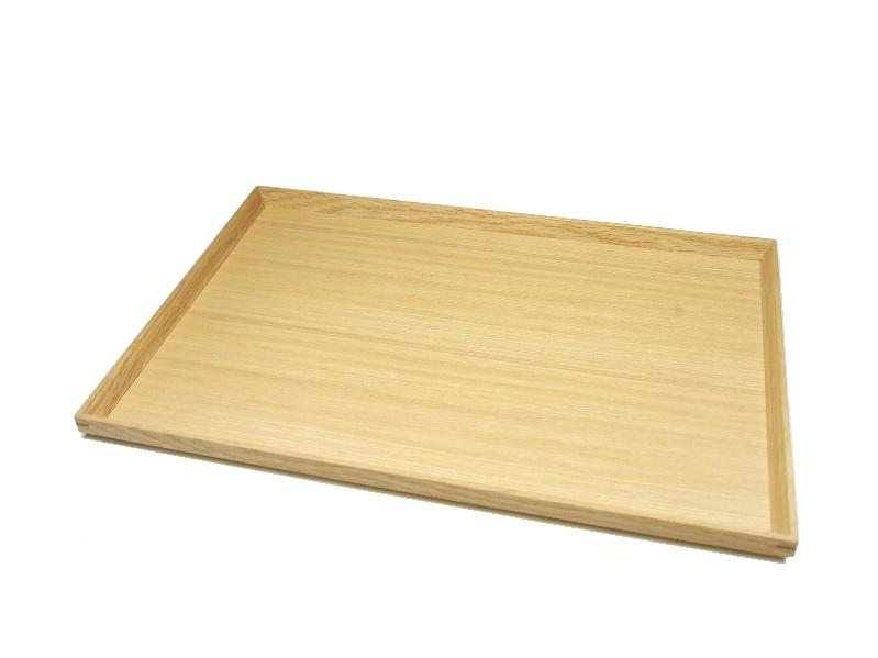 """Plain coated tamo 1 Shaku 2 Sun Longhorn tray ' (wooden, Japanese-style, Western-style, simple, modern, natural, basin / Zen / Japan made)"