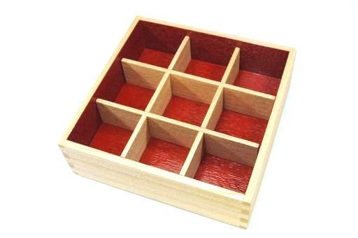 """""""Plain painted ash 6-boxes for nine off partition '"""