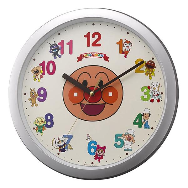 それいけアンパンマンの掛時計 リズム時計 アンパンマン壁掛け時計 掛時計 定価 今だけ限定15%OFFクーポン発行中 4KG713-M19 M713 在庫限り